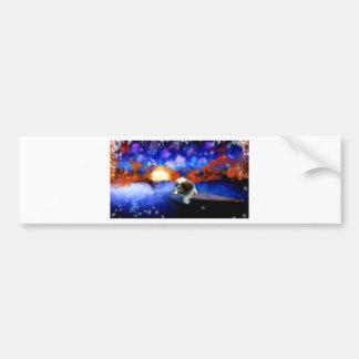Carl Schurtz_Painting.jpg Bumper Sticker