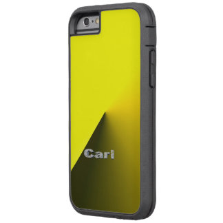 Carl Yellow Tough Xtreme Style iPhone 6 case