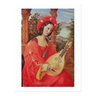 Carla Bianca von Quandt, c.1820 (oil on canvas) Postcard