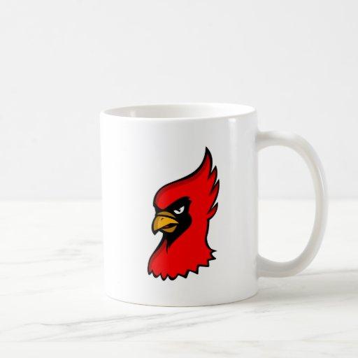 Carla Cardinal Classic White Coffee Mug