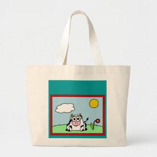 Carla Cow Tote Bag