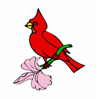 Carleen Cardinal Acrylic Cut Outs