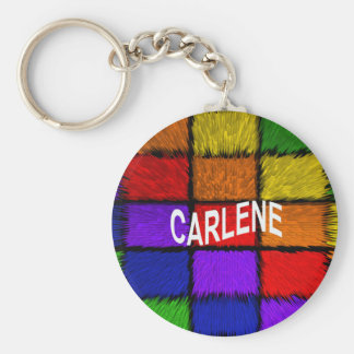 CARLENE BASIC ROUND BUTTON KEY RING