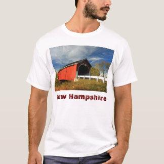 Carleton Covered Bridge Swanzey NH, New Hampshire T-Shirt