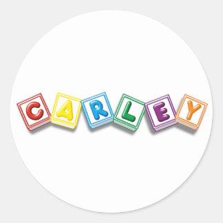 Carley Sticker