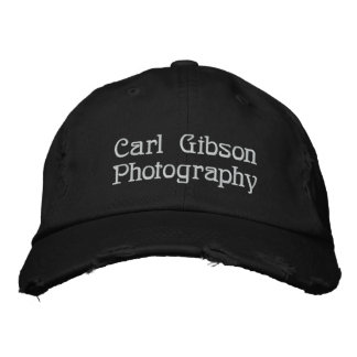 CarlGibsonPhoto Hat Embroidered Hats