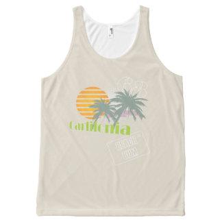 Carlifornia summer beach bum All-Over print tank top