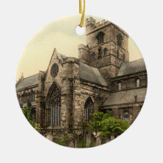 Carlisle Cathedral, Cumbria, England Christmas Ornament
