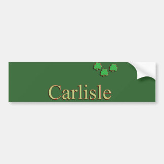 Carlisle Family Bumper Sticker