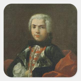 Carlo Broschi 'Il Farinelli' Square Sticker