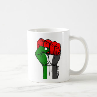 Carlos Latuff's Palestinian Fist Mug