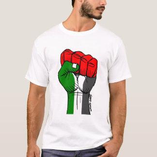 Carlos Latuff's Palestinian Fist T-shirt