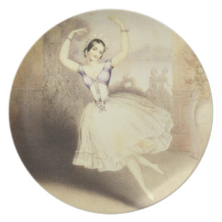Carlotta Grisi (1819-99) in the Ballet of the Peri Dinner Plates