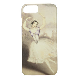Carlotta Grisi (1819-99) in the Ballet of the Peri iPhone 8/7 Case