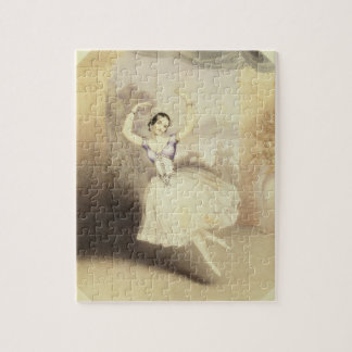 Carlotta Grisi (1819-99) in the Ballet of the Peri Jigsaw Puzzle