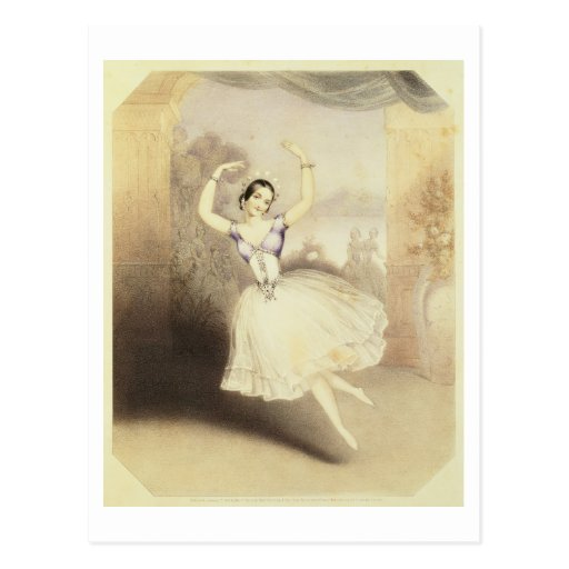 Carlotta Grisi (1819-99) in the Ballet of the Peri Post Cards