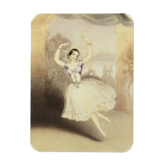 Carlotta Grisi (1819-99) in the Ballet of the Peri Flexible Magnets