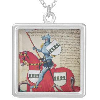 Carlotto Capodilista dei Transelgaldi Silver Plated Necklace