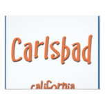 Carlsbad California BlueBox Custom Invite