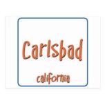Carlsbad California BlueBox Post Cards