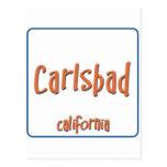 Carlsbad California BlueBox Postcards