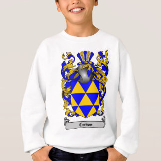 CARLSON FAMILY CREST -  CARLSON COAT OF ARMS T SHIRT