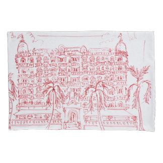 Carlton Hotel, Cannes, France Pillowcase