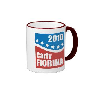 Carly Fiorina 2010 Mugs