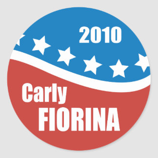 Carly Fiorina 2010 Stickers