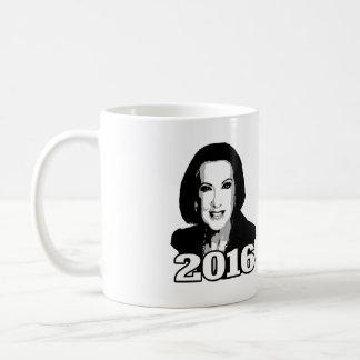 CARLY FIORINA 2016 CANDIDATE COFFEE MUG