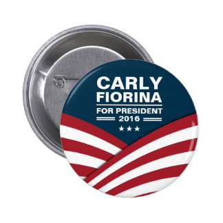 Carly Fiorina for President 2016 6 Cm Round Badge