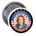 Carly Fiorina for President 2016 7.5 Cm Round Badge