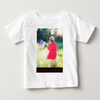 Carly Fiorina for President 2016 Baby T-Shirt