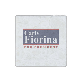 Carly Fiorina for President Campaign Sign 2016 Stone Magnet