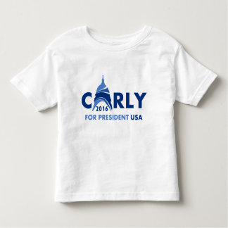 Carly Fiorina For President Toddler T-Shirt