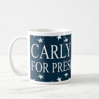 Carly Fiorina President 2016 Basic White Mug