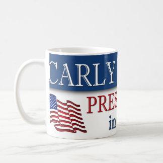 Carly Fiorina President in 2016 Basic White Mug