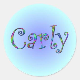 Carly Rainbow Sticker