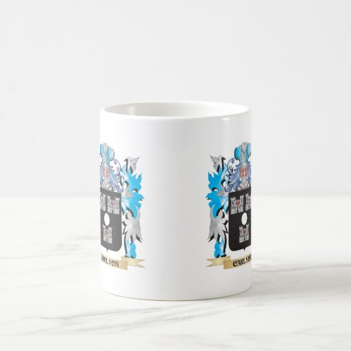 Carlyon Coat of Arms - Family Crest Mugs