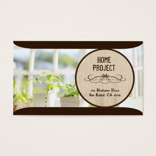 Carly's Home Project Business Cards