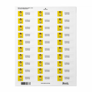 Carmalia - Return Address Labels