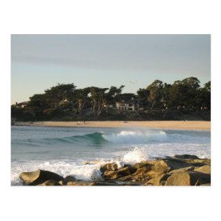 Carmel Beach (no text) by John Oven Postcard