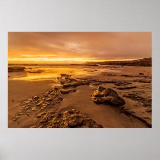 Carmel Beach Sunset Print