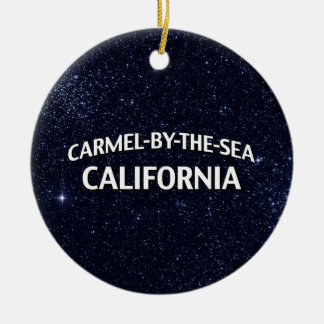 Carmel-by-the-Sea California Christmas Ornament