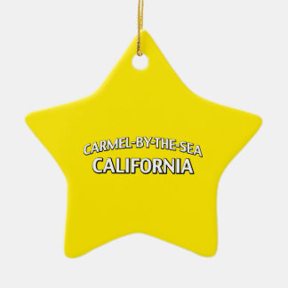 Carmel-by-the-Sea California Christmas Ornament