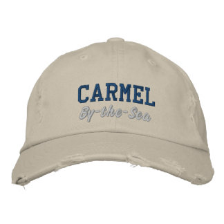 Carmel By-the-Sea Embroidered Hat
