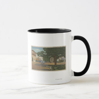 Carmel, CA - Business District View of Downtown Mug