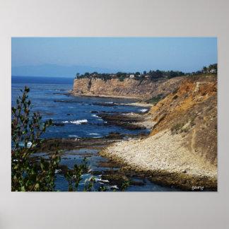 Carmel, CA. Coastline Poster