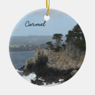 Carmel, California Christmas Ornament