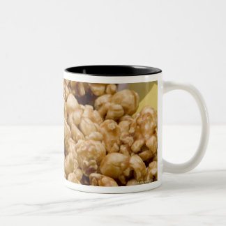 Carmel Corn and pretzels Two-Tone Coffee Mug